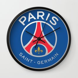 PSG Logo Wall Clock