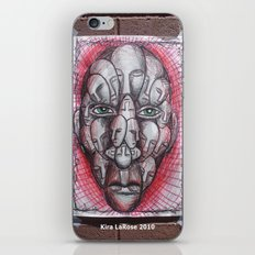 The Face of Man II  iPhone & iPod Skin