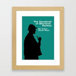 The Casebook of Sherlock Holmes Framed Art Print
