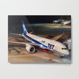 All Nippon Airways - ANA Boeing 787-8 Dreamliner Metal Print