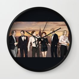 The Party Wall Clock