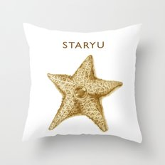 Sandy Staryu Throw Pillow