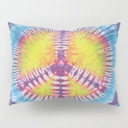 Peace Tie Dye Pillow Sham