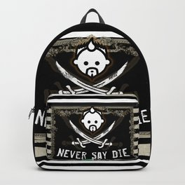 NEVER SAY HD by JC LOGAN 4 Simply Blessed Backpack