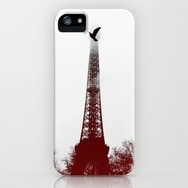 Bird on the tower iPhone Case