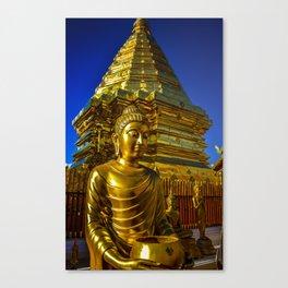 Doi Suthep Golden Buddha Canvas Print