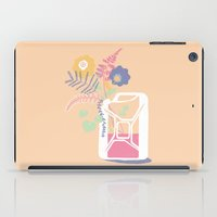 pocket fuel iPad Cases featuring floral fuel by silviarossana