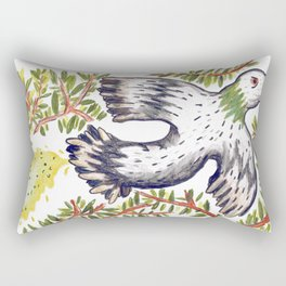 Lola the Pigeon Rectangular Pillow