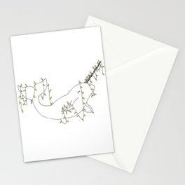 Narval aux lumières. Stationery Cards