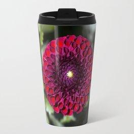 Dahlia In The Garden / 32 Travel Mug