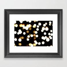 scattered light Framed Art Print