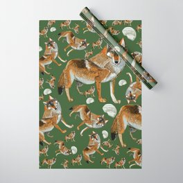 Totem Carpathian wolf Wrapping Paper