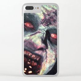 Deadite Clear iPhone Case