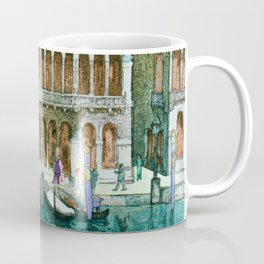 Canals In Venice - Digital Remastered Edition Coffee Mug