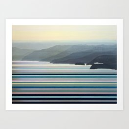 Big Sur Landscape Art Print