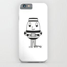 Egg Criminal iPhone Case