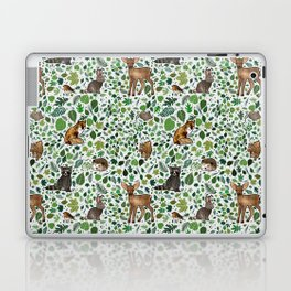 Woodland Animal Friends Laptop & iPad Skin