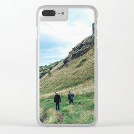 Arthur's Seat Edinburgh Clear iPhone Case