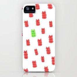 Gummy Bears Strawberry Flavor iPhone Case