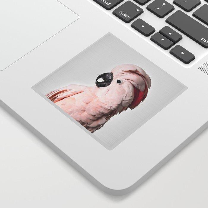 Pink Cockatoo Sticker