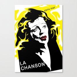 Piaf Canvas Print