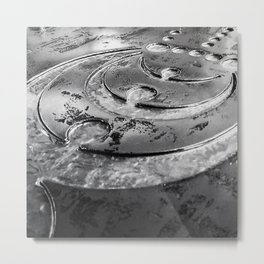 Mysterious Messages Metal Print