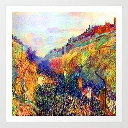 Camille Pissarro Mardi Gras Art Print