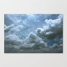 Wonder Cloud Canvas Print