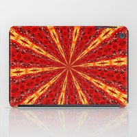 novelty iPad Cases featuring FALL KALEIDOSCOPE  by Teresa Chipperfield Studios