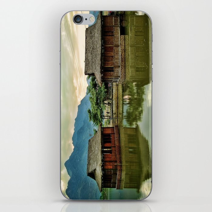 Water Huts iPhone Skin