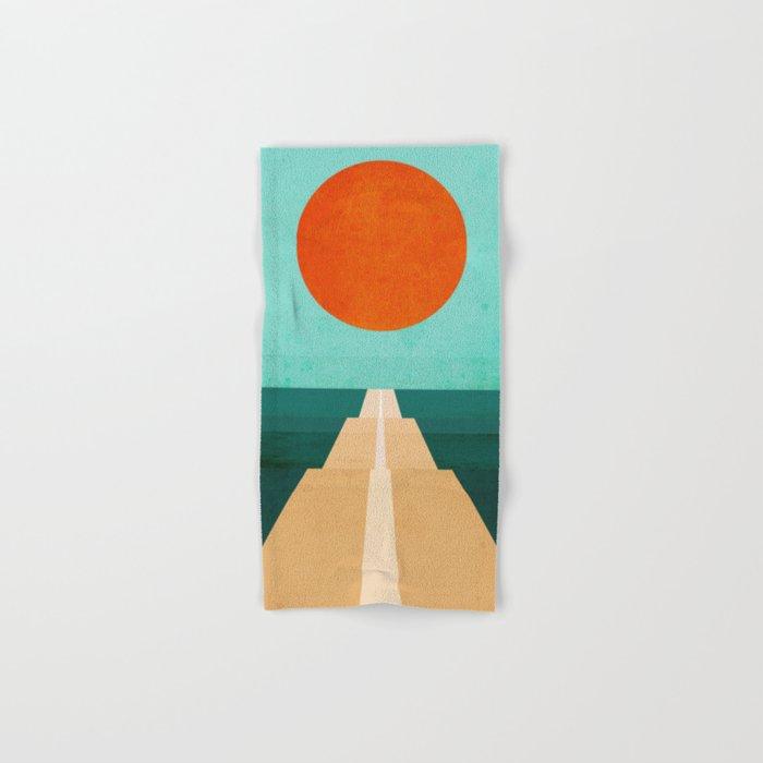 The Road Less Traveled Hand & Bath Towel