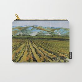 Colors of Napa Valley ll by Lisa Elley, Palette Knife Painting in oil. Carry-All Pouch