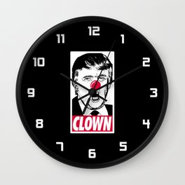 Trump - Clown Wall Clock