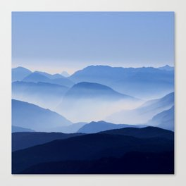 Mountain Shades Canvas Print