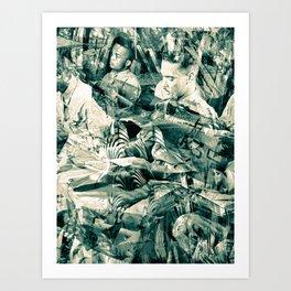 """Black Wings 9"" Cadets Trial"" Art Print"