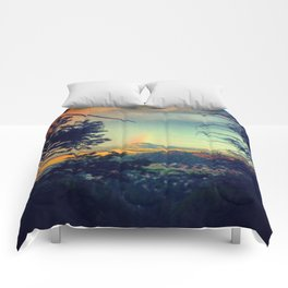 End of Rainbow 1 Comforters