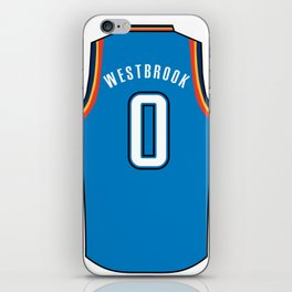 Westbrook Jersey iPhone Skin