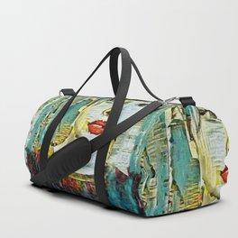 Serendipity Beyond Smashed Mirrors Duffle Bag