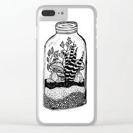 Terrarium Clear iPhone Case