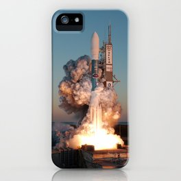 842. Delta II Launch with the THEMIS satellite payload from pad 17B C iPhone Case