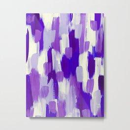 Purple Cora Metal Print