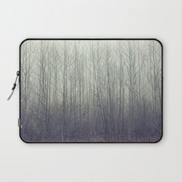 in the foggy woods Laptop Sleeve