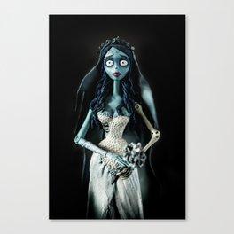 Toy bride Canvas Print