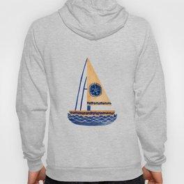 The Tribal Sailboat Hoody