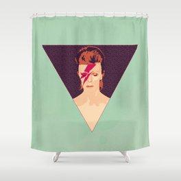 David Bowie/Aladdin Sane Shower Curtain
