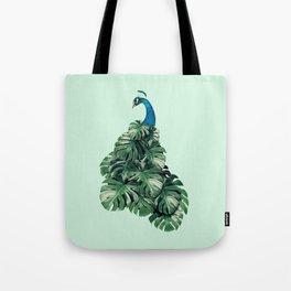 MONSTERA BIRD Tote Bag