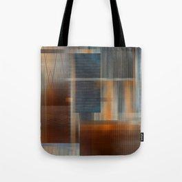 Uninhabited Mosaic (Zig Zag) Tote Bag
