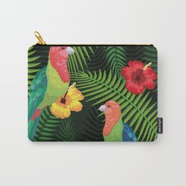Tropicana Parrotts Carry-All Pouch