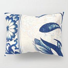 Blue Oriental Vintage Tile 03 Pillow Sham