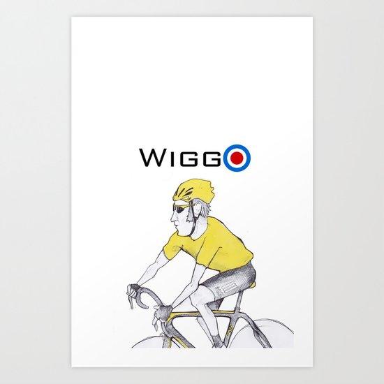 Wiggo Art Print
